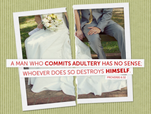 Adultery is not the answer!
