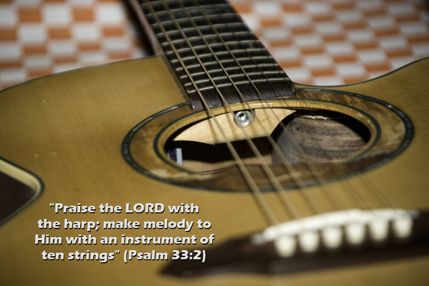 Does the bible say anything about music?