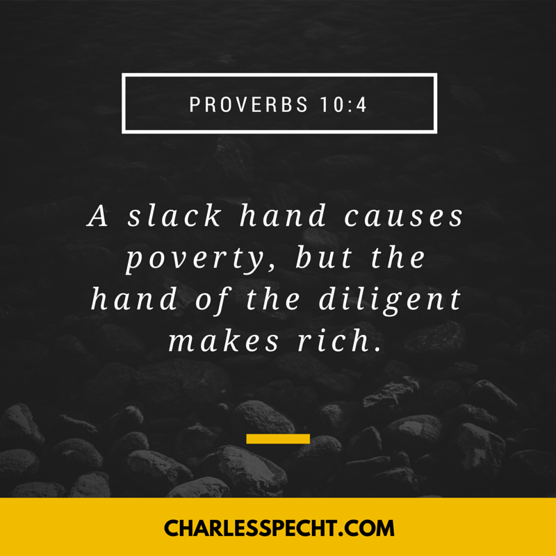 quote card Proverbs 10_4