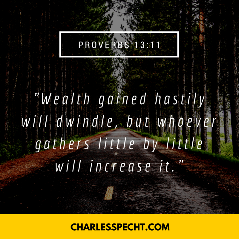 quote card Proverbs 13_11